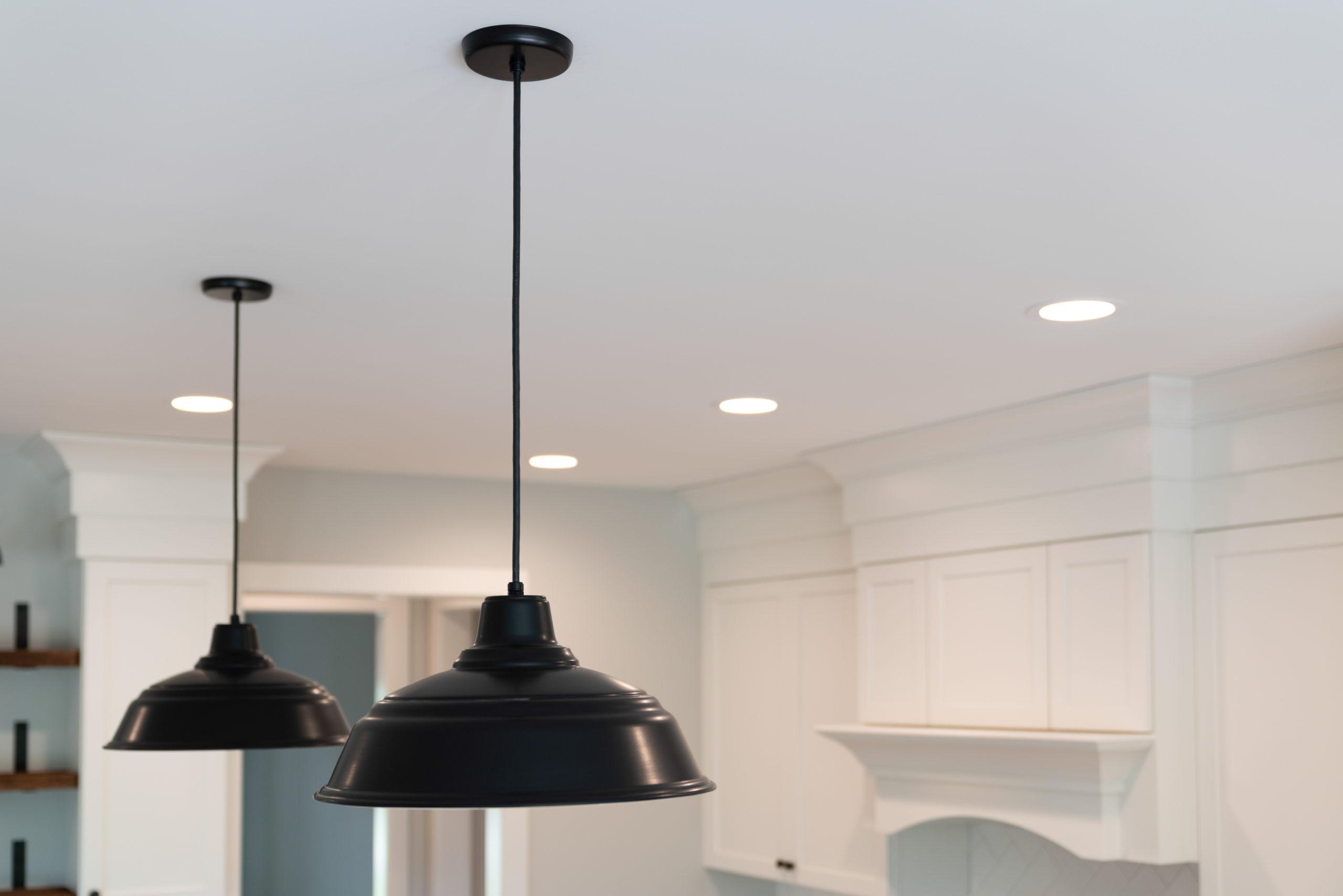 farmhouse kitchen black pendant light fixtures
