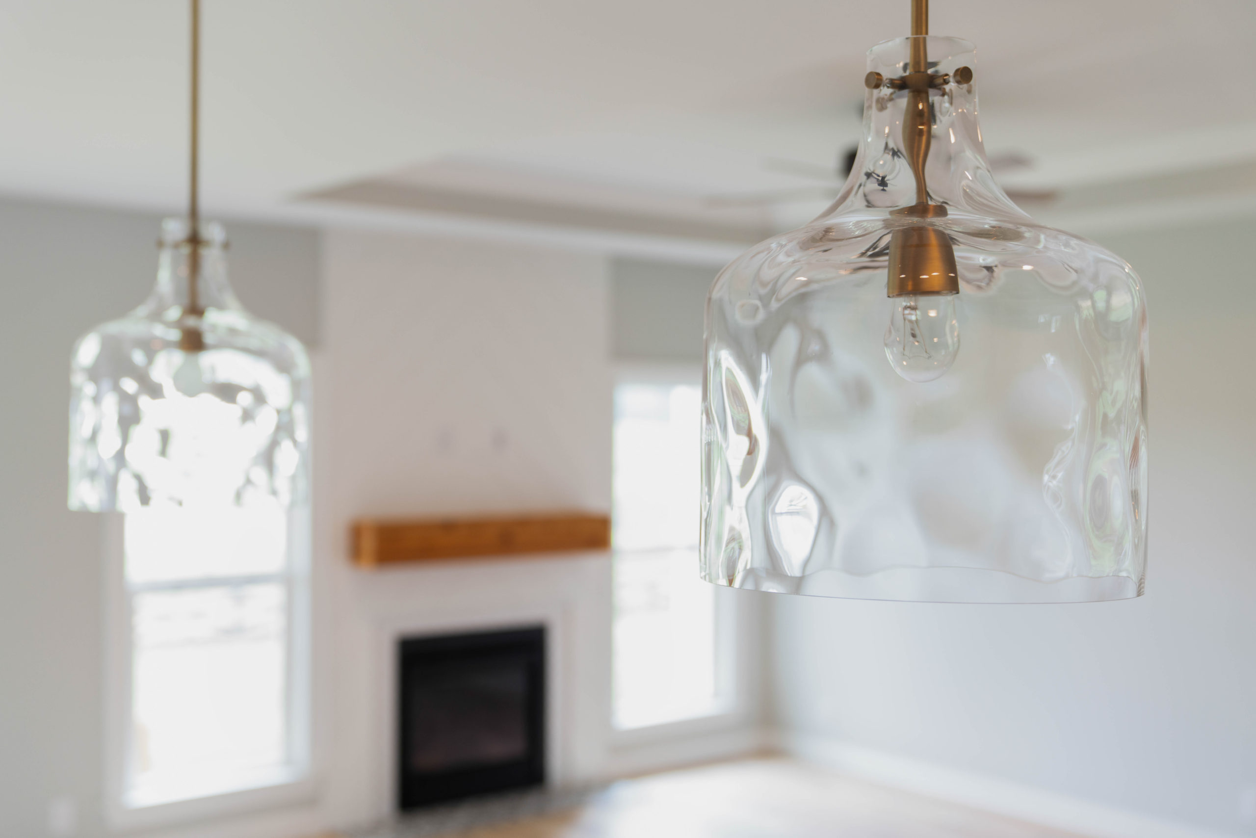 gold and glass pendant light fixtures
